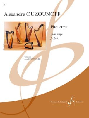 Alexandre Ouzounoff - Pirouettes - Partition - di-arezzo.fr