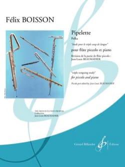 Pipelette - Félix Boisson - Partition - laflutedepan.com