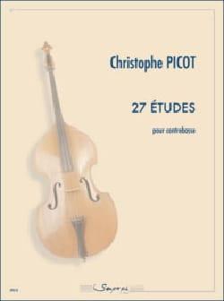 Christophe Picot - 27 Etudes - Double bass - Sheet Music - di-arezzo.com