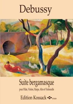 Suite Bergamasque - Quintette DEBUSSY Partition laflutedepan