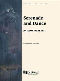 John David Earnest - Serenade and Dance - Clarinet and Piano - Sheet Music - di-arezzo.com