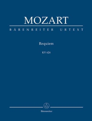 Requiem KV 626 - conducteur MOZART Partition laflutedepan