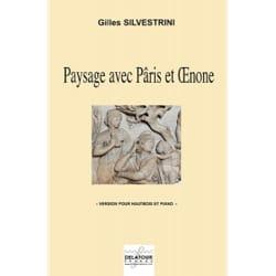 Paysage avec Pâris et Oenone Gilles Silvestrini Partition laflutedepan