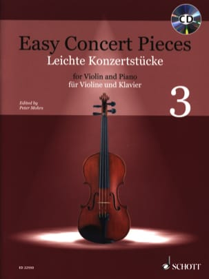 Easy Concert Pieces 3 - Violin and Piano - Sheet Music - di-arezzo.co.uk
