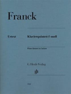 Quintette avec Piano en Fa mineur FRANCK Partition laflutedepan