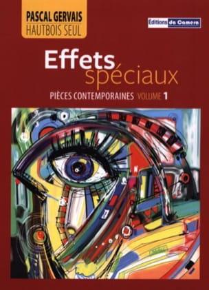 Effets spéciaux - Hautbois solo Pascal Gervais Partition laflutedepan