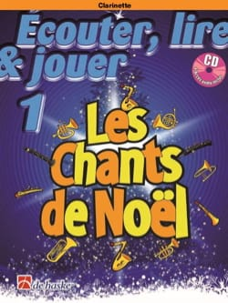 Les Chants de Noël 1 - Clarinette Partition Clarinette - laflutedepan