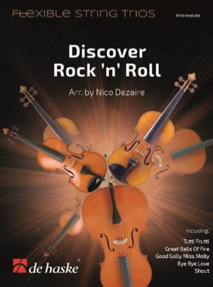 Discover Rock'n'Roll - String Trio - Sheet Music - di-arezzo.co.uk
