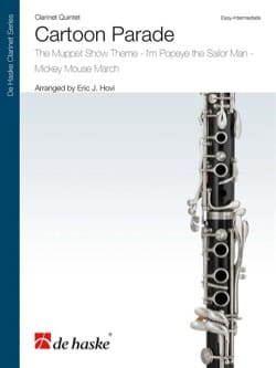 - Cartoon Parade - 5 Clarinets - Sheet Music - di-arezzo.com