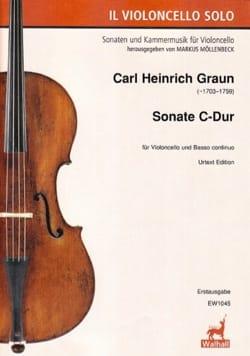 Carl Heinrich Graun - Sonate - Cello and BC - Sheet Music - di-arezzo.co.uk