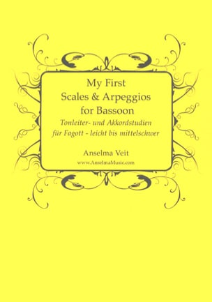 Anselma Veit - My First Scales and Arpeggios - Bassoon - Sheet Music - di-arezzo.com
