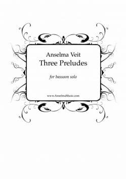 Anselma Veit - 3 Preludes - Bassoon alone - Sheet Music - di-arezzo.com