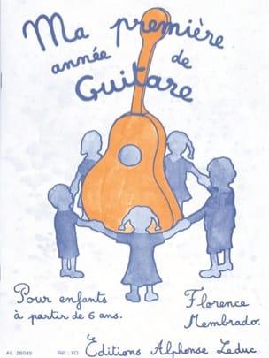 Florence Membrado - Ma 1ère année de guitare - Partition - di-arezzo.fr
