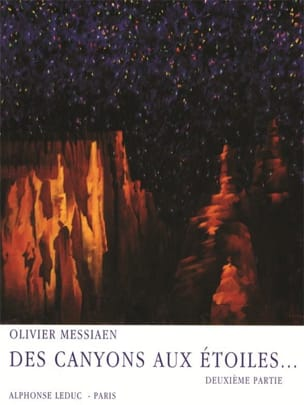 Olivier Messiaen - Canyons In The Stars - Part 2 - Sheet Music - di-arezzo.com
