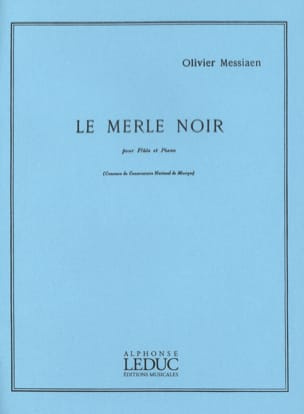 Olivier Messiaen - Blackbird - Sheet Music - di-arezzo.co.uk