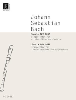 BACH - Sonate - Partition - di-arezzo.fr