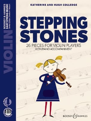Stepping Stones - Violon et Piano - Partition - di-arezzo.fr