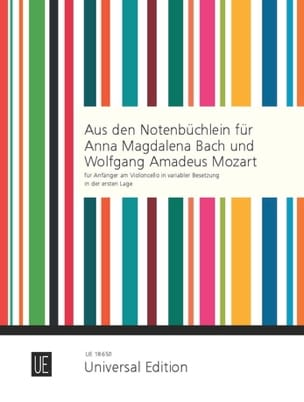 From the Notebooks for Anna Magdalena Bach & Wolfgang Amadeus Mozart laflutedepan