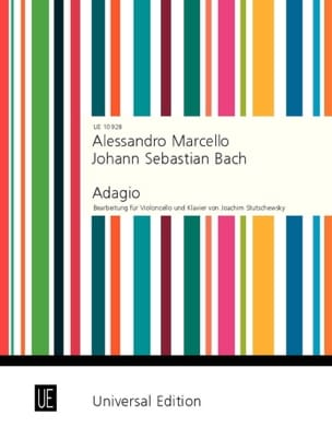 Marcello Benedetto / Bach Johann Sebastian - Adagio BWV 974 N ° 2 - Sheet Music - di-arezzo.co.uk