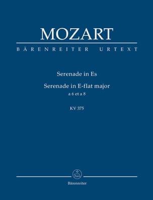 Serenade für Bläser Es-dur - MOZART - Partition - laflutedepan.com