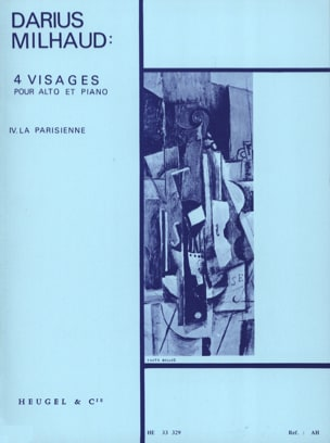 Darius Milhaud - 4 Faces - N ° 4 La Parisienne - Sheet Music - di-arezzo.com
