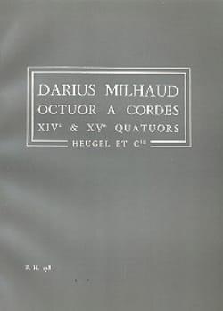 Darius Milhaud - Octet A String 14th and 15th Quartets - Sheet Music - di-arezzo.com