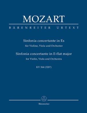 MOZART - Sinfonia Concertante Es-Dur KV 364 - Partitur - Partition - di-arezzo.fr