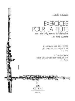 Louis Moyse - Exercises for the flute - Volume 1 - Sheet Music - di-arezzo.com