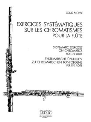Louis Moyse - Exercices systématiques sur les chromatismes - Partition - di-arezzo.fr