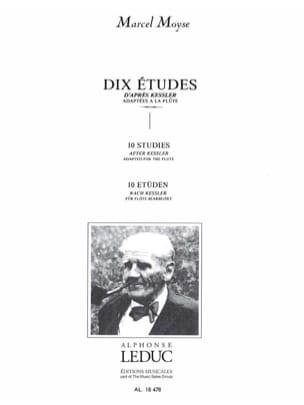 Kessler / Moyse Marcel - 10 Etudes - Flute - Sheet Music - di-arezzo.co.uk