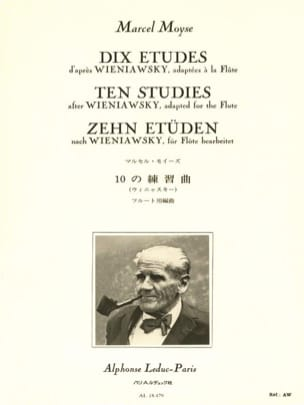 Marcel Moyse - 10 Studies after Wieniawsky - Flute - Sheet Music - di-arezzo.co.uk