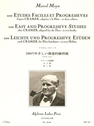 Moyse Marcel / Cramer - 100 Easy studies and progr. - Volume 1 - Sheet Music - di-arezzo.co.uk
