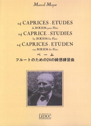 Theobald Boehm - 24 Caprices-Etudes, op. 26 - Sheet Music - di-arezzo.co.uk