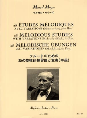 Marcel Moyse - 25 Melodic studies - Flute - Sheet Music - di-arezzo.co.uk