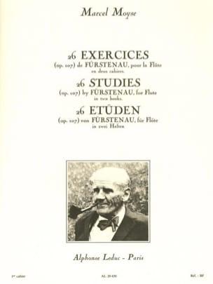 Fürstenau Anton Bernhard / Moyse Marcel - 26 Exercises op. 107 - Volume 1 - Sheet Music - di-arezzo.com