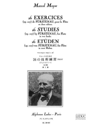 Fürstenau Anton Bernhard / Moyse Marcel - 26 Exercises op. 107 - Book 2 - Sheet Music - di-arezzo.com