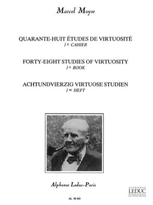 Marcel Moyse - 48 Virtuosity Studies - Volume 1 - Sheet Music - di-arezzo.co.uk