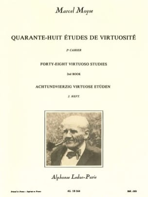 Marcel Moyse - 48 Virtuosity Studies - Volume 2 - Sheet Music - di-arezzo.com