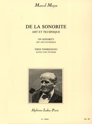 Marcel Moyse - Of the Sound - Sheet Music - di-arezzo.co.uk