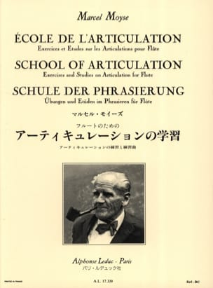 Marcel Moyse - School of articulation - Flute - Sheet Music - di-arezzo.com