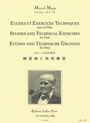 Marcel Moyse - Studies and technical exercises for the flute - Sheet Music - di-arezzo.co.uk