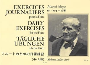 Marcel Moyse - Daily exercises - Sheet Music - di-arezzo.co.uk
