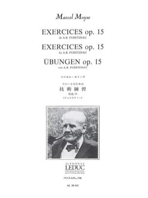 Fürstenau Anton Bernhard / Moyse Marcel - Exercises Op. 15 - Sheet Music - di-arezzo.com
