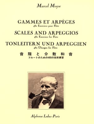 Marcel Moyse - Ranges and Arpeggios - Sheet Music - di-arezzo.com