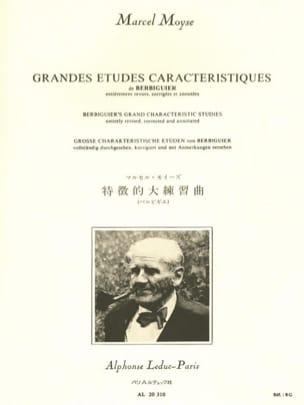 Berbiguier Benoît-Tranquille / Moyse Marcel - Principales estudios característicos - Partitura - di-arezzo.es