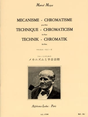 Marcel Moyse - Mechanism - Chromatism - Flute - Sheet Music - di-arezzo.co.uk