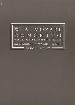 Concerto Clarinette KV 622 - Conducteur - MOZART - laflutedepan.com