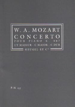 Concerto Piano KV 467 ut majeur - MOZART - laflutedepan.com