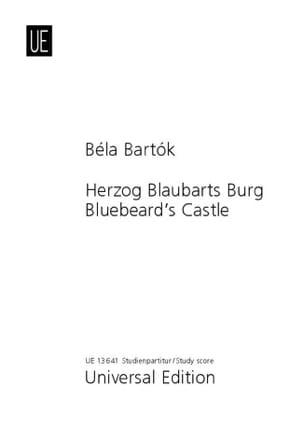 Herzog Blaubarts Burg Op. 11 BARTOK Partition laflutedepan