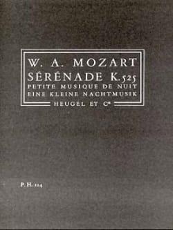 MOZART - Serenata KV 525 - Conductor - Partitura - di-arezzo.es